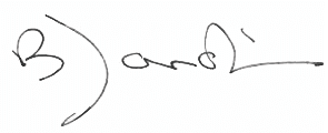 Signature of Bruno Jardin